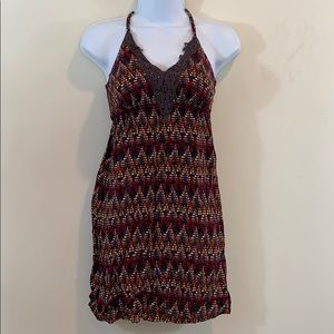6 Degrees Sleeveless Padded Mini Dress  Size S